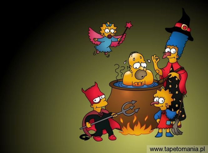 The Simpsons Wallpaper 1024 X 768 (9), tapety The Simpsons, The Simpsons tapety na pulpit, The Simpsons