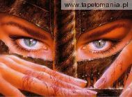 Eye of the warrior   Luis Royo