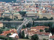 Manesu Bridge Over the Vltava River, Prague, Czech Republic