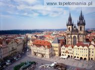 Old Town Square and Tyn Church, Prague, Czech Republic