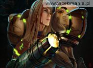 Samus Aran  Battlescars by transfuse